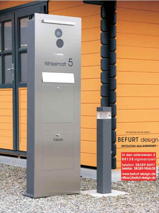 Briefkasten Sprechanlage - Schick-Handel® Effective-Security-Solutions