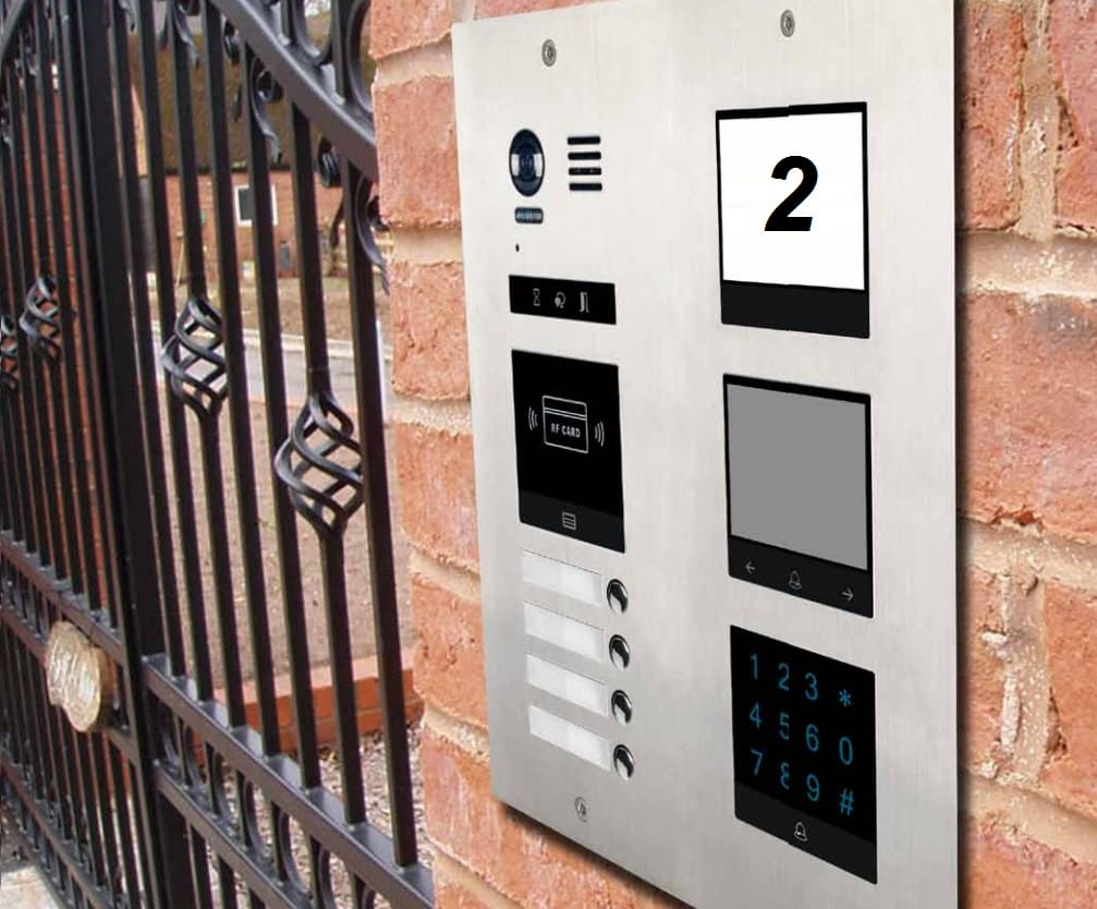 Door intercom system DM21