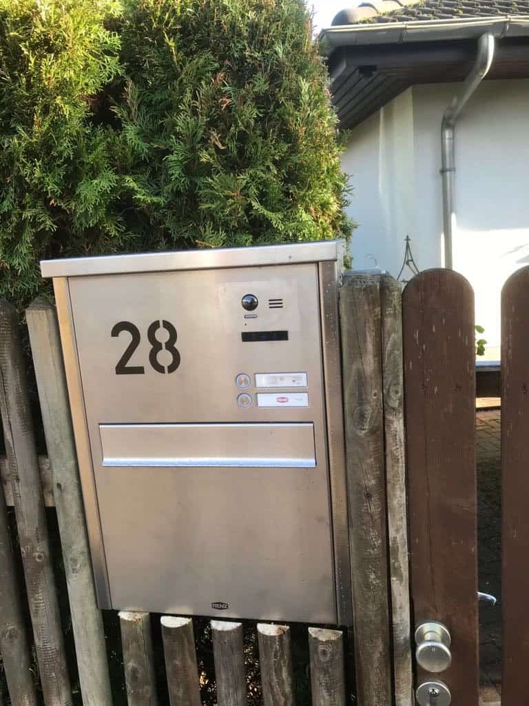 Briefkasten Sprechanlage