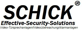 Schick ® Effective-Security-Solutions Türklingel, Türsprechanlage mit Kamera &Klingelanlage